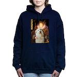 Great Pyrenees 3 - Queen.png Hooded Sweatshirt