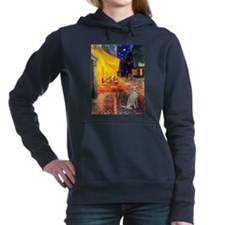 MP-CAFE-ItalianGreyhound5.png Hooded Sweatshirt
