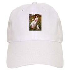 WINDFLOWERS-ItalianGreyhound5.png Baseball Cap