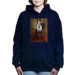 Lincoln - Keeshond (F).png Hooded Sweatshirt