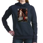 The Accolade - Two Keeshonds.png Hooded Sweatshirt