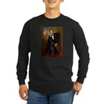 5.5x7.5-Lincoln-BlkLab1.png Long Sleeve Dark T-Shi