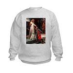 5.5x7.5-Accolade-Y-LAB2.png Kids Sweatshirt