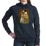 The Kiss-Yellow Lab 7.png Hooded Sweatshirt