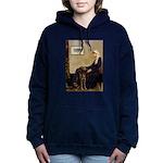 Mom's Chocolate Lab Hooded Sweatshirt