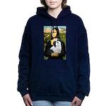 Lhasa Apso 2 - Mona Lisa.png Hooded Sweatshirt