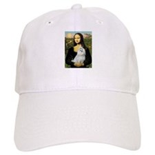 CARD-Mona-Maltese6.tif Baseball Cap