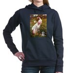 WINDFLOWERS-MalteseRocky.png Hooded Sweatshirt
