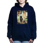 VENUS-Newfie-Blk2.png Hooded Sweatshirt