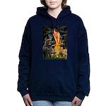 MIDEVE-Newfie-Blk2.png Hooded Sweatshirt