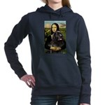 MONA-Newfie-Blk2.png Hooded Sweatshirt