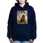 SPRING-Newfie-Brown... Hooded Sweatshirt