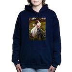 WINDFLOWERS-Newfie-Blk2.png Hooded Sweatshirt