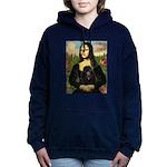TR-Mona-Poodle-Blk-NF.png Hooded Sweatshirt
