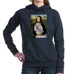 5.5x7.5-Mona-Pood-White-ST.PNG Hooded Sweatshirt