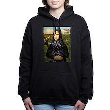 2-Mona Lisa-PWD 5.png Hooded Sweatshirt