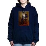 TILE-LINCOLN-Pug-Blk14.png Hooded Sweatshirt
