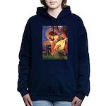 MP-ANGEL3-Pug-Blk14.tif Hooded Sweatshirt