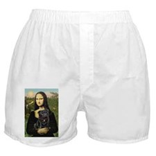 MONA-Pug-Blk-new-C-red.png Boxer Shorts