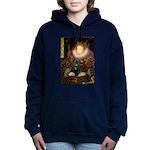 QUEEN-Pug-Blk14.png Hooded Sweatshirt