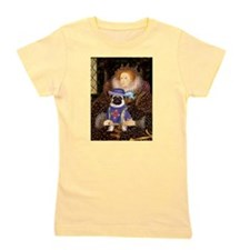 Queen-Sir Pug (17) Girl's Tee