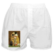 KISS-BlkPUG13-RedC.png Boxer Shorts
