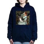 Rat Terrier - Ophelia Seated.png Hooded Sweatshirt