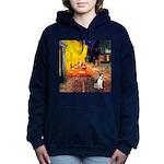 Rat Terrier - Terrace Cafe.png Hooded Sweatshirt
