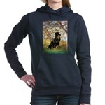 ORN-SPRING-Rottie5.png Hooded Sweatshirt