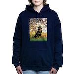 ORN-SPRING-Rottie5.png Hooded Sweatshirt