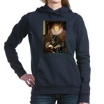 QUEEN-Rottie5.png Hooded Sweatshirt