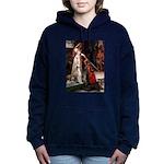 5.5x7.5-Accolade-Saluki1.png Hooded Sweatshirt