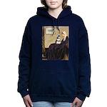 810-WMom-Schnauzer7.png Hooded Sweatshirt
