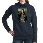 5.5x7.5-Mona-GSchnauzerStand-grey.PNG Hooded Sweat