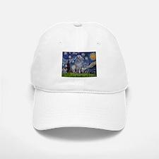 5.5x7.5-Starry-ScottishDeerhnd.PNG Baseball Baseball Cap