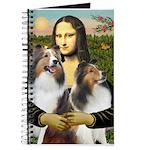 Mona Lisa / 2 Shelties (DL) Journal
