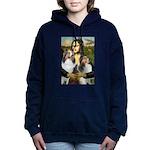 Mona Lisa / 2 Shelties (DL) Hooded Sweatshirt