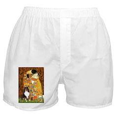 Kiss/Tri Color Sheltie Boxer Shorts