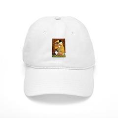 Kiss/Tri Color Sheltie Baseball Cap