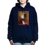 LINCOLN-CorgiPair.png Hooded Sweatshirt