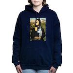 Mona Lisa / Corgi (bibl) Hooded Sweatshirt