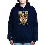 MONA-Corgi PAIR.png Hooded Sweatshirt