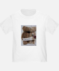 Cute Wedding bear T