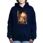 5x7-Queen--Corgi1.png Hooded Sweatshirt