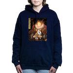 MP-QUEEN-Corgi-Pem3.png Hooded Sweatshirt