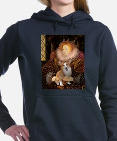 MP-QUEEN-Corgi-Pem3.png Hooded Sweatshirt