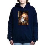 QUEEN-Corgi-Tova.png Hooded Sweatshirt