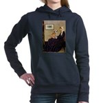 5.5x7.5-WMom2-Corgi7B.PNG Hooded Sweatshirt