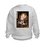 5.5x7.5-Queen-Westie6.png Kids Sweatshirt