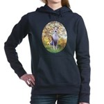 ORN--Oval-SPRING-Whipet8.png Hooded Sweatshirt